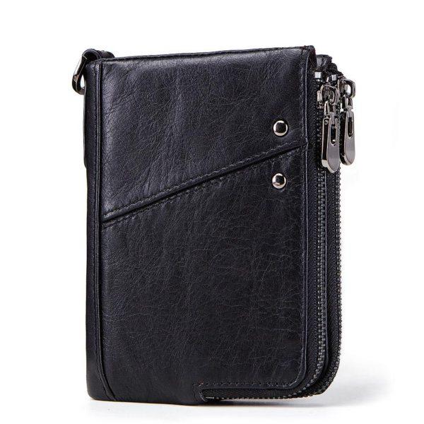 Black unisex Wallet